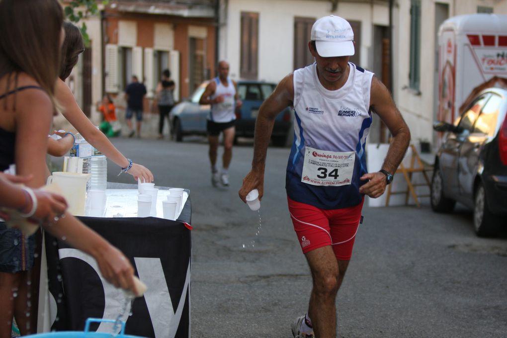 A Curinga, Marco Boffo e Monica Carlin si laureano re e regina della 6 ore, con il nuovo record della corsa (81,241 km per Boffo e 70,305 km per Carlin), mentre Fabio Ricci vince la Maratona, con un tempo poco al disotto delle tre ore.
