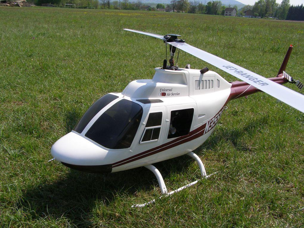 Bell 206 JET RANGER de notre president :) sur une base d'un Vario Benzin