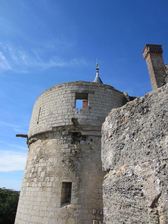 Le château de Montreuil-Bellayen images