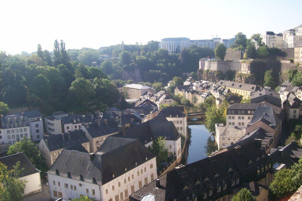 Photos prises lors d'une courte escapade à deux en août 2013qui nous a conduits en Allemagneet au Luxembourg.