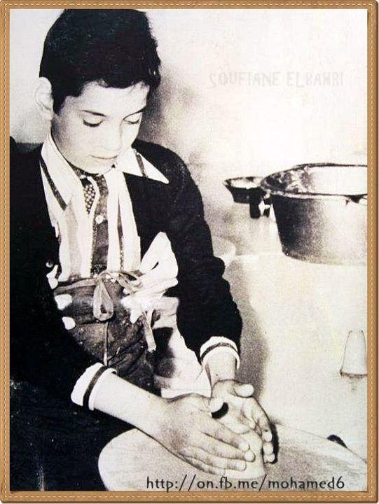 ألبوم صور طفولة الملك محمد السادس