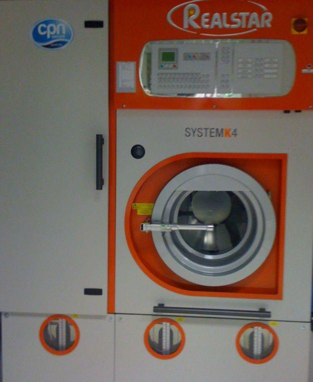 Les machines utilisées pour le nettoyage écoresponsable de votre linge