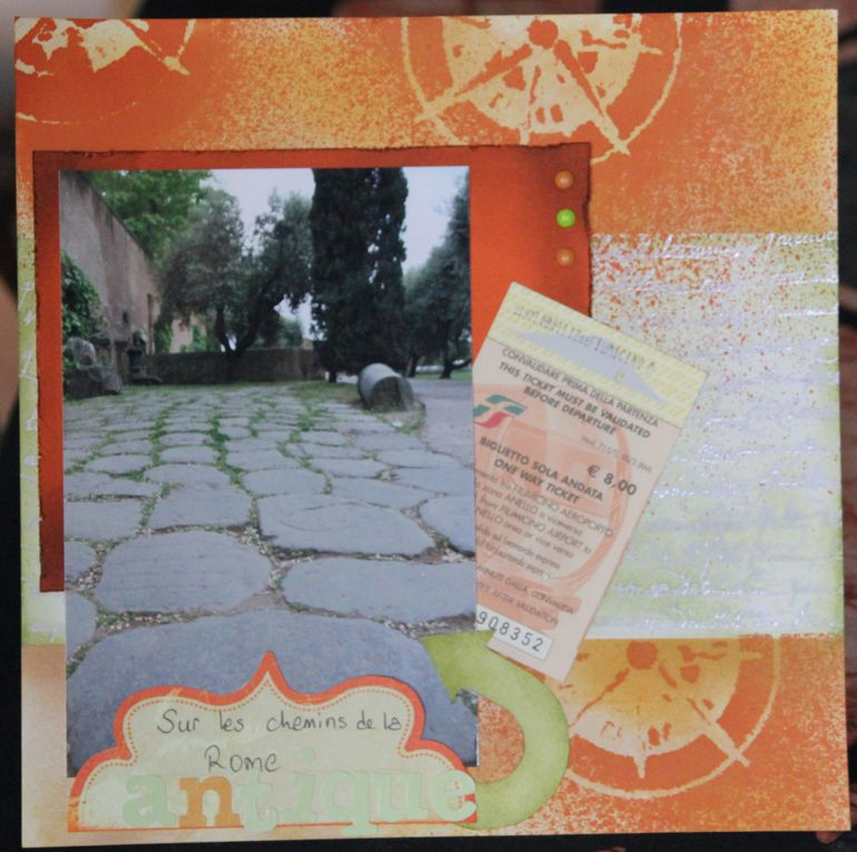 Album 20*20 de nos vacances à Rome.