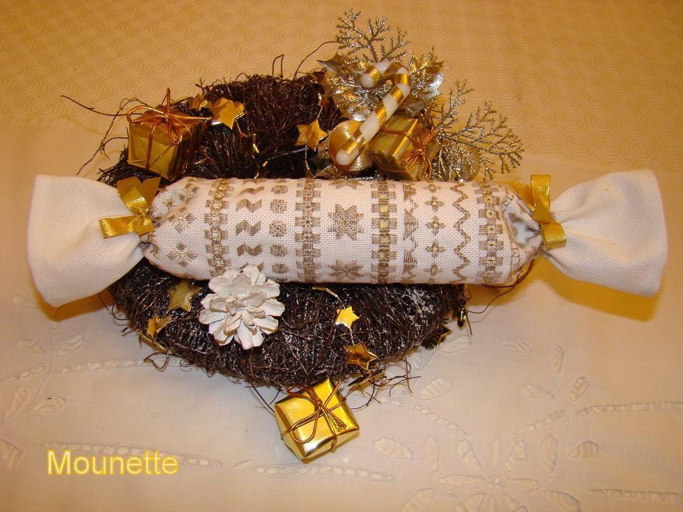 """""""friandise aux couleurs festives""""Minis biscornus"""