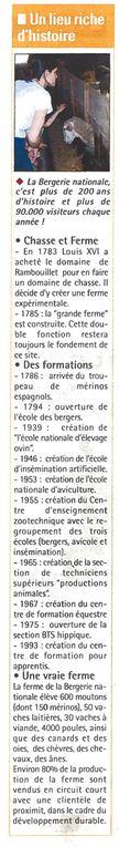 Album - Les articles des Nouvelles de Rambouillet du 18 mai
