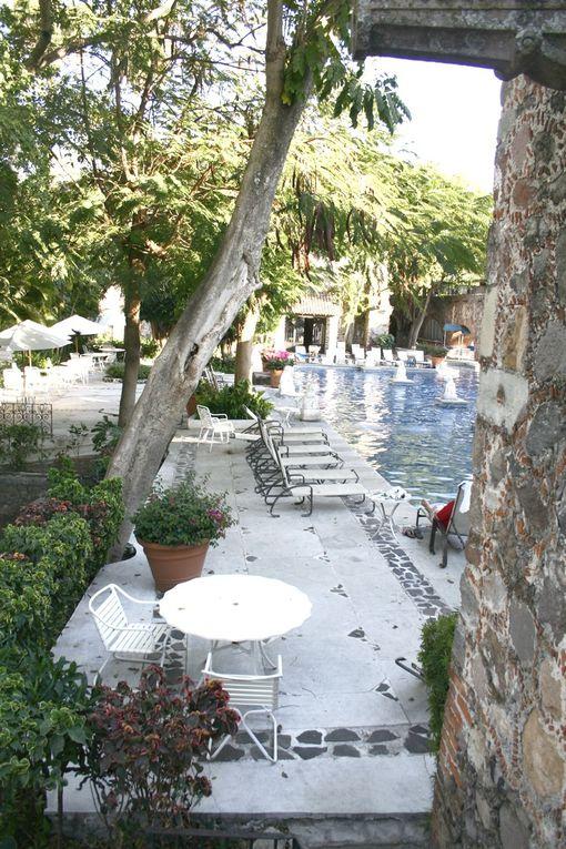 Vista Hermosa ou l'hacienda de Cortes dans l'Etat de Morelos. Fondée au XVI siècle par Hernan Cortès lui-même, cette hacienda a fonctionné pendant des siècles comme le centre d'une énorme exploitation agricole. Elle a été transformée récem
