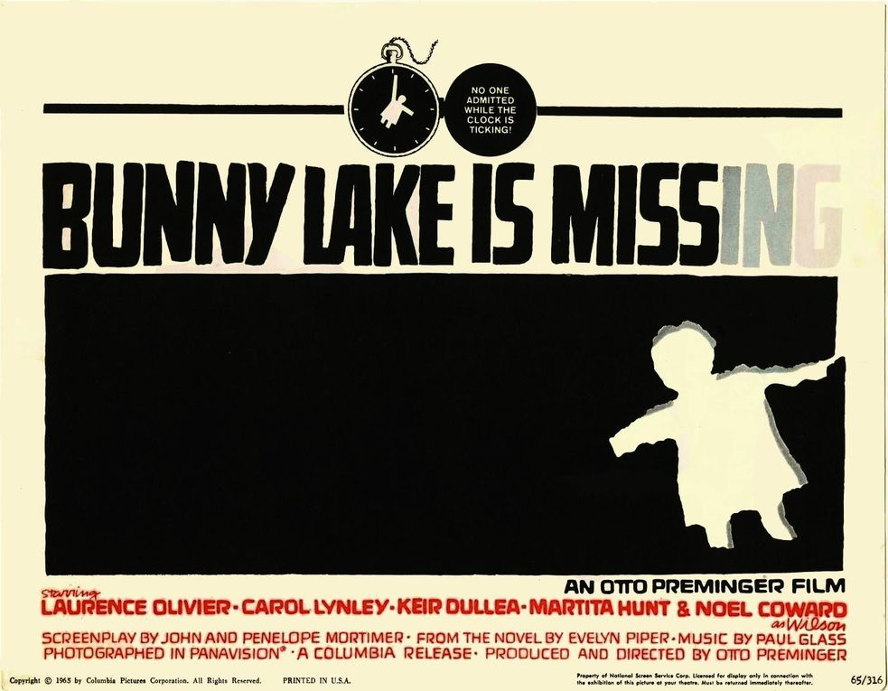 Album - Bunny-Lake-a-disparu