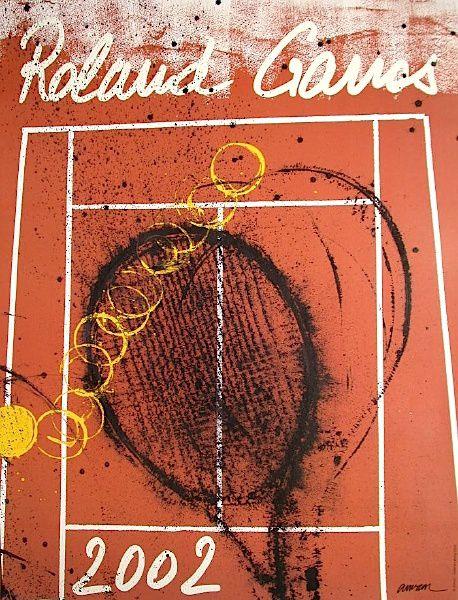 Album - Affiches Roland Garros et tennis