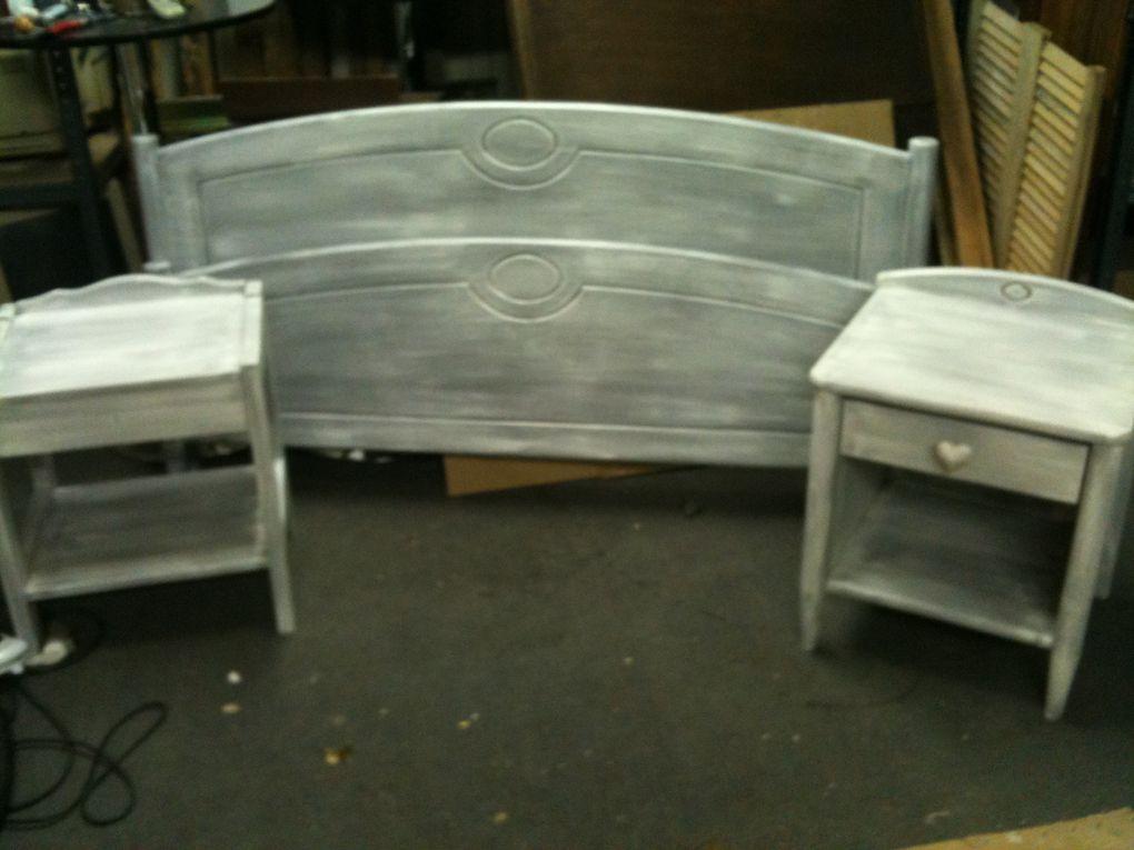 Divers travaux réalisés sur meubles en commande