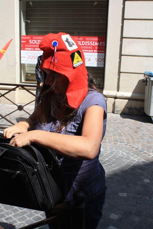 Album - Fête du travail et la banderole a Montauban