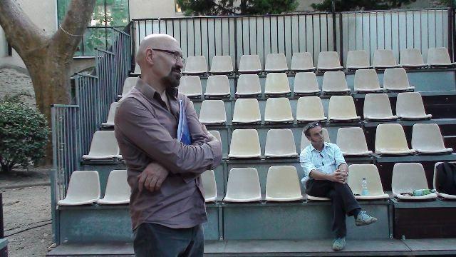 Répétitions et spectacle au Théâtre des Halles en juillet 2010.Photos : JG Carasso