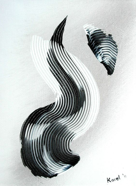 Oil paint and/or Acrylic paint.Backs are Black or White.              DEJA VENDU / ALREADY SOLD &#x3B;BLACK & WHITE = GRAY,INFINITY, SIGNS, FLAMES,