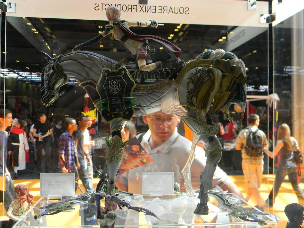 Quelques photo de la Japan Expo, les figurines du stand de Good Smile Company et quelques autres du stand de Square Enix.