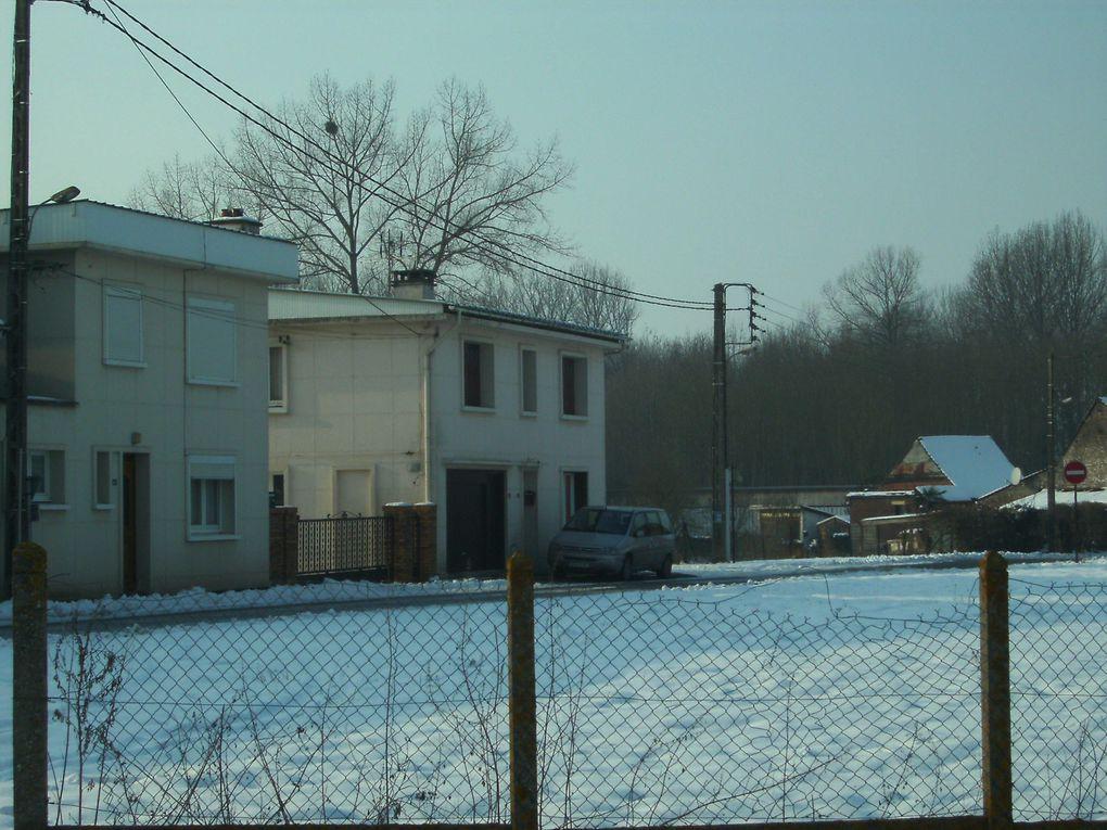 quelques images sous la neige
