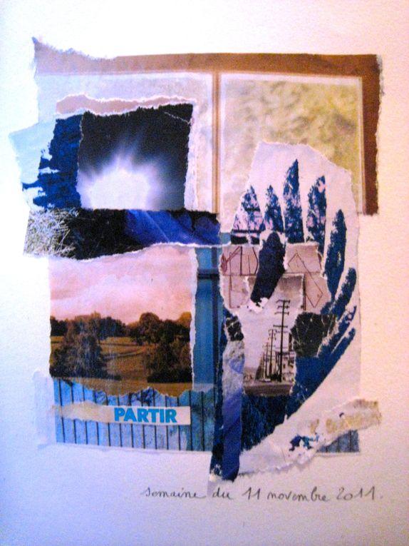 """Pour visualiser l'ensemble des collages, en vrac, de la série """"elle m'inspire"""", c'est ici ! réactualisé chaque semaine."""