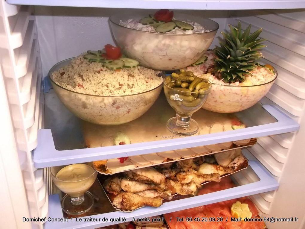 Des photos de quelqu'uns de nos buffets...