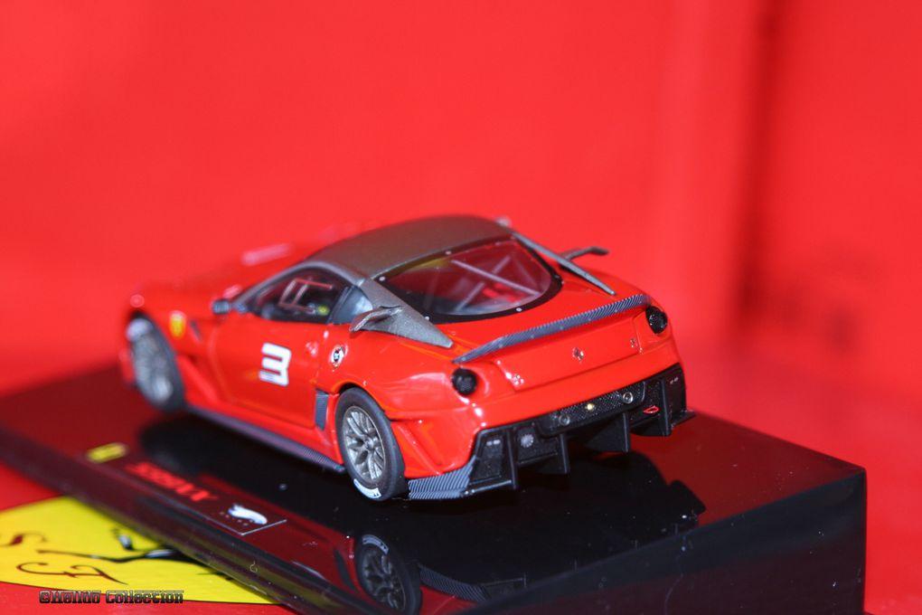 Ferrari 599 XX 1/43 Hot Wheels Elite