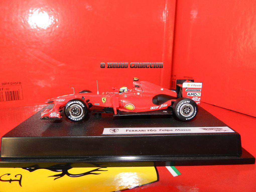Ferrari F60 Felipe Massa 1/43 Hot Wheels Elite