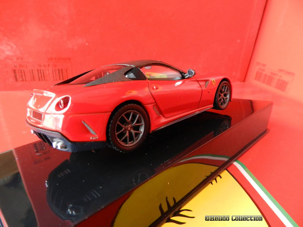 Ferrari 599 GTO 1/43 Hot Wheels Elite