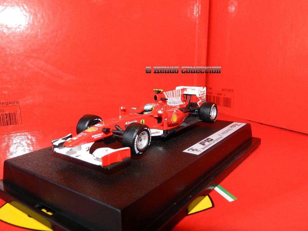 Ferrari F10 Alonzo 1/43 Hot Wheels Elite