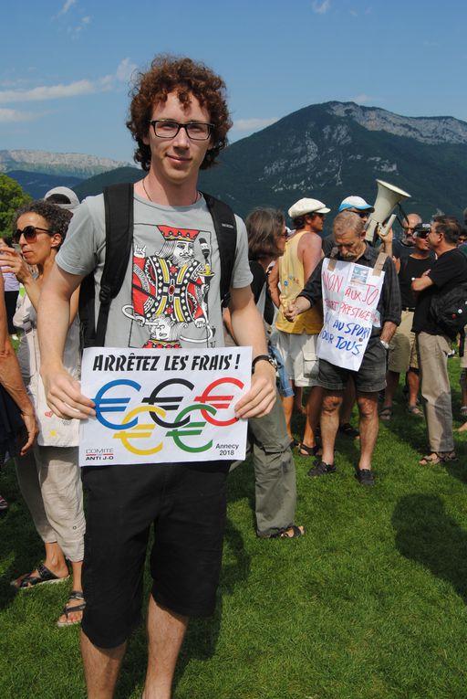 journée du mercredi 6 juillet 2011, les opposants aux conséquences écologiques, économiques et sociales des J.O ont GAGNE leur combat pour la préservation de nos montagnes de investisseurs