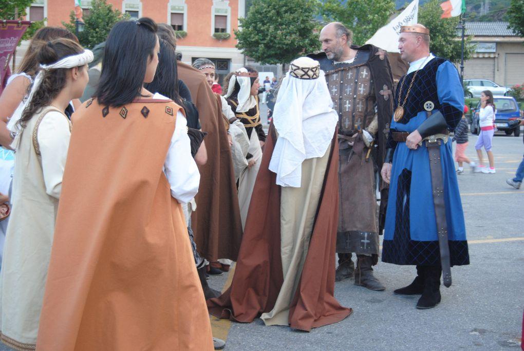 cortèges et défilé du 23 juillet 2011