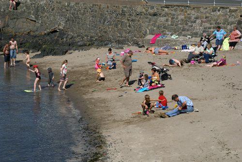 voyage en Ecosse en camping-car en juin 2010. Côte ouest, Highlands, Hébrides: Lewis, Harris, Skye, Mull.Côte est de Perth aux Borders.