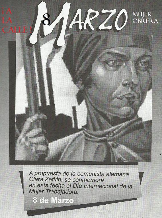 Calendrier des Comités pour un Secours Rouge International (SRI) dans l'Etat espagnol