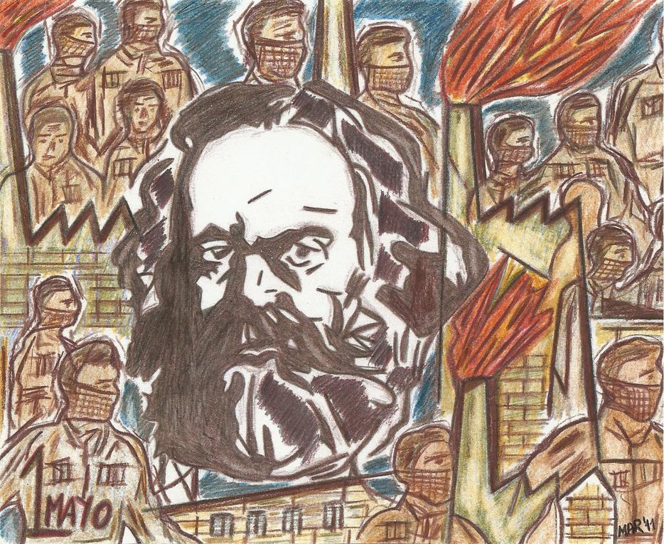 Dessins réalisés en prison par des prisonnier/ères politiques Communistes, Antifascistes, et Solidaires du PCE(r), des GRAPO et du SRI.