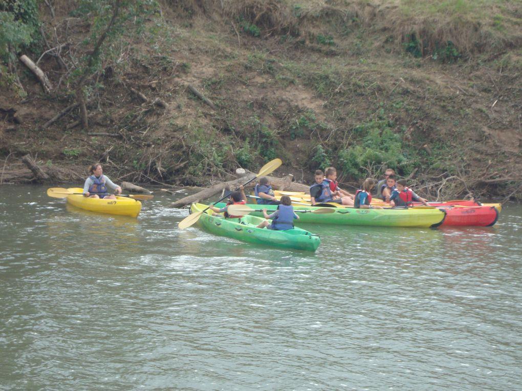 2ème sortie du groupe APPN pour du kayak.