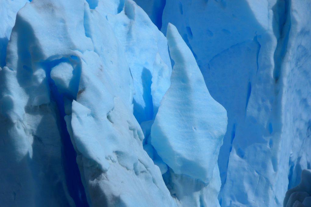 Parc des glaciers, prises de vues du Perito Moreno et du lago Argentino près d'el Calafate !!!