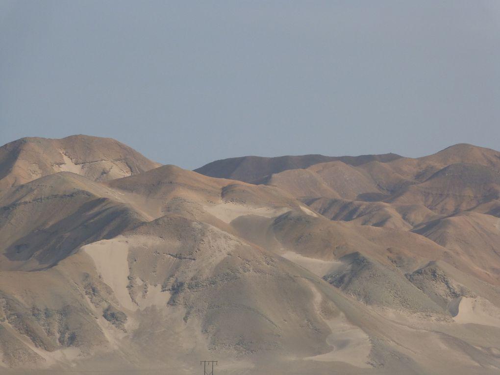 passage dans les déserts du Pacifique et immersion dans la culture Moche et Chimu, rivaux des Incas !!!