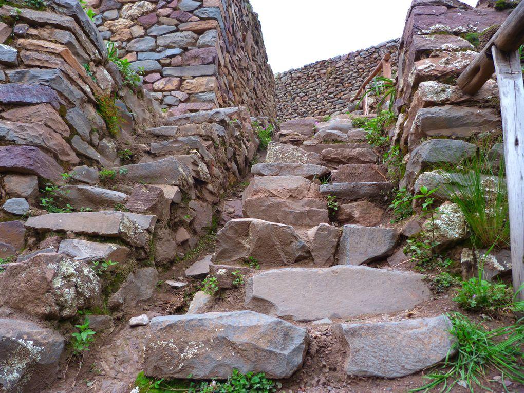 balade dans les ruines Inca de la vallée sacrée !!!