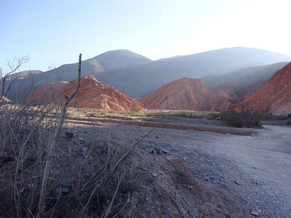 village de Purmamarca et la vallée aux 7 couleurs