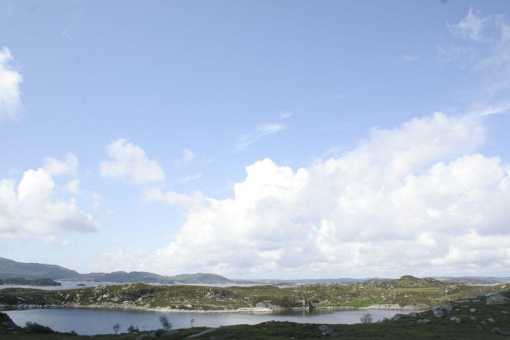 bergen arc en ciel, routes, stavanger, cabin et bungalow sur le fjord