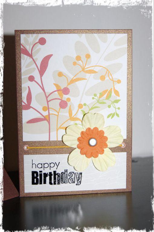 Album - Cartes d'anniversaire