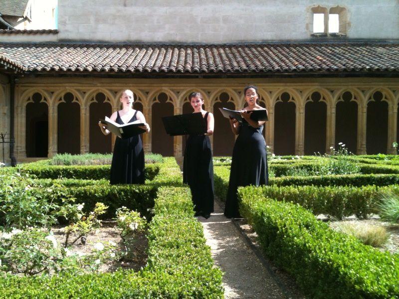 Un aperçu du parcours dans l'Abbaye de Charlieu