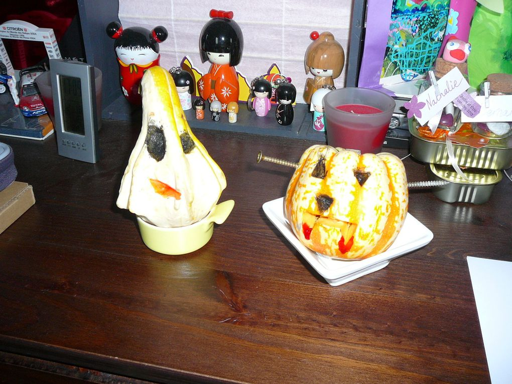 Ma citrouille pour Halloween