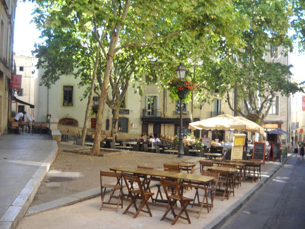 Dans cet album se trouvent les photos des plus beaux endroits du centre-ville de Montpellier