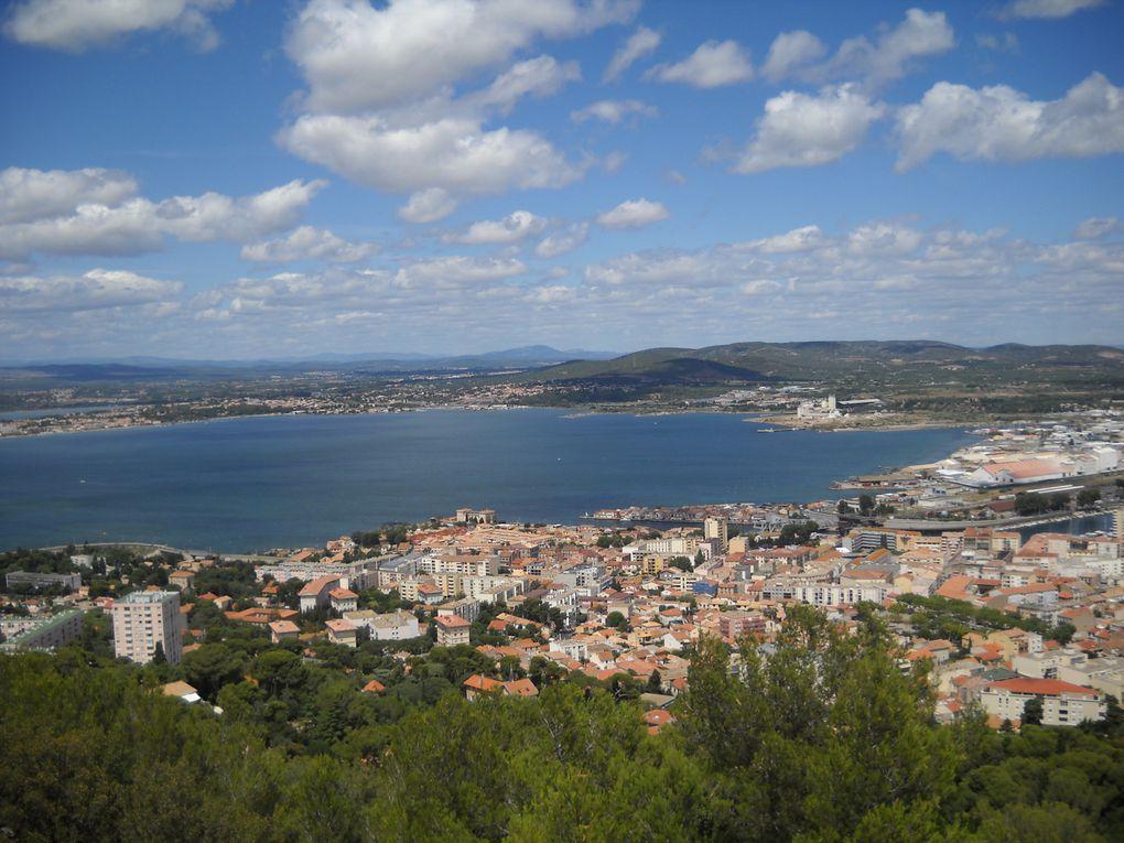 Sète, la ville de Georges Brassens, si charmante.
