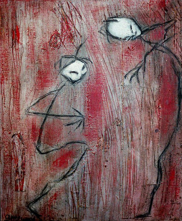 Album - H-Peintures/rouges-avant 2009