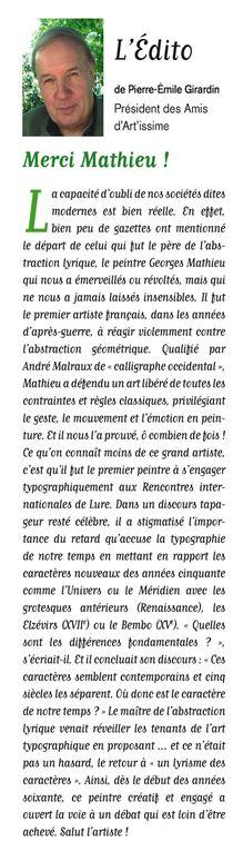 Album - Les éditos