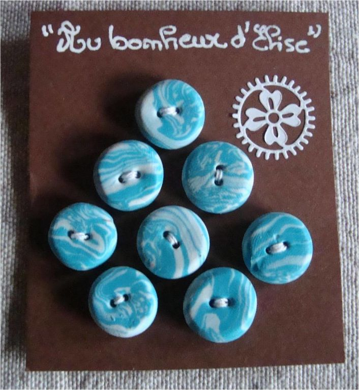 Mes boutons...