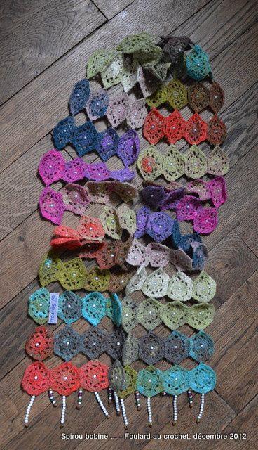 Album - Foulard au crochet