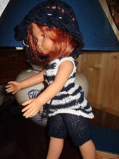 Liste des fiches de vêtements de poupées