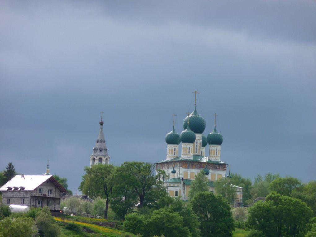 Un voyage à travers la Russie par la voie des eaux, de la Volga à la Neva