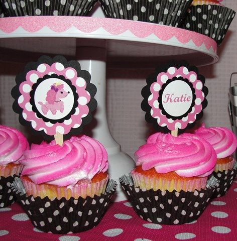 http://partypops.blogspot.com/2011/08/katies-pink-princess-puppy-party.html