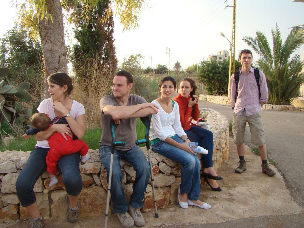 novembre 2012  week end avec tous les volontaires DCC a Jieh dans le chouf