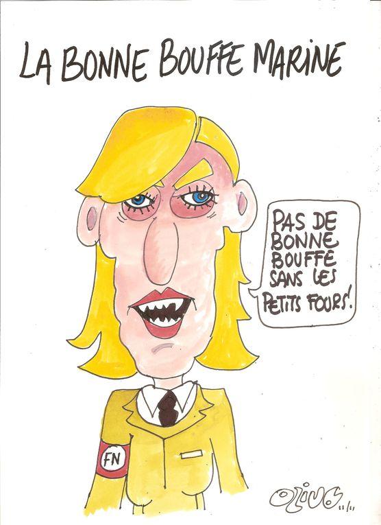 dessins présentés au festival de cheval blanc 2011, il y a aussi des photos....