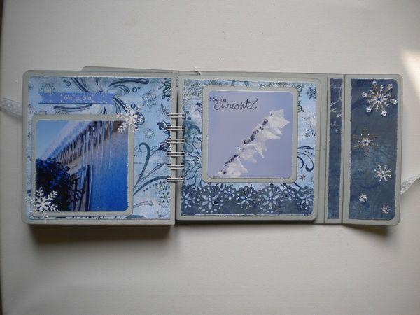 Mini réalisé pour la revue Création Scrapbooking .Avec des papiers Bo Bunny et des photos de Jean Louis Yacono.